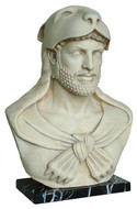 Bust of Hercules, National Archaeological Museum, Athens, Greece, 325 B.C. - Photo Museum Store Company