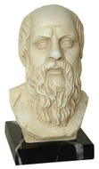 Bust of Socrates - National Archaeological Museum, Athens, 400 B.C. - Photo Museum Store Company
