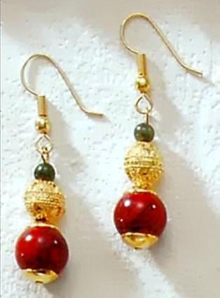 Jasper & Jade Earrings - Photo Museum Store Company