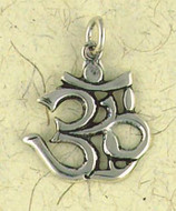 Om Pendant on Cord : Hindu & Buddhist Collection - Photo Museum Store Company