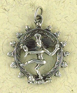 Shiva Natraja Pendant on Cord : Hindu & Buddhist Collection - Photo Museum Store Company