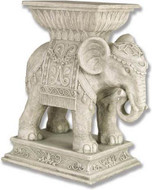 Elephant Indian Pedestal - Photo Museum Store Company