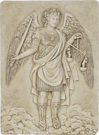 Archangel Michael wall plaque - Photo Museum Store Company