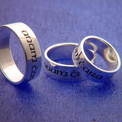Anam Cara Ring (Soul Friend) : Gaelic - Posey & Inscribed Ring - Photo Museum Store Company