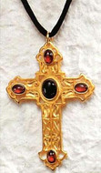 Jeweled Cross Pendant & Necklace - American ca. 1905,  Cleveland Museum of Art - Photo Museum Store Company