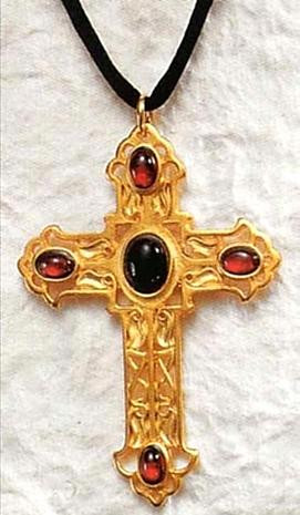 Jeweled Cross Pendant Museum Store Company Gifts