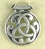 Celtic Weave Pendant on Cord : Celtic and Irish Collection - Photo Museum Store Company
