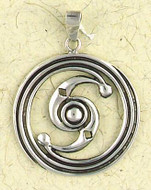 Celtic Knot Pendant on Cord : Celtic and Irish Collection - Photo Museum Store Company