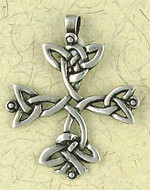 Celtic Cross Pendant on Cord : Celtic and Irish Collection - Photo Museum Store Company