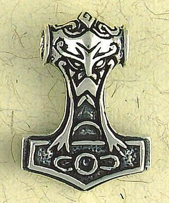 Thors hammer pendant museum store company gifts jewelry and more thors hammer pendant on cord norse and viking collection photo museum store company mozeypictures Gallery