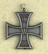 Iron Cross (Double Sided) Pendant on Cord : Contemporary Collection - Photo Museum Store Company