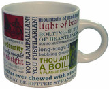 Shakespearean Insults Mug - William Shakespeare - Photo Museum Store Company