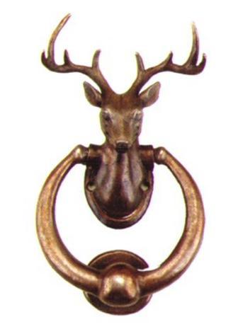 Deer Bust Door Knocker - Photo Museum Store Company  sc 1 st  Museum Store Company & Deer Bust Door Knocker   Museum Store Company gifts jewelry and more pezcame.com