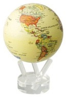 MOVA-MUSEUM Antique Beige Self Powered Solar Globe