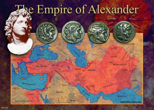 alexander the great 39 s empire coins museum gift shop coin collecting. Black Bedroom Furniture Sets. Home Design Ideas