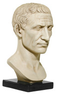 Julius Caesar Bust on Marble Base, Vatican Museum - Photo Museum Store Company