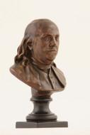 Benjamin Franklin, Jean-Antoine Houdon - Photo Museum Store Company