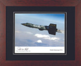 X15 Flight - Autographed and Signed by Bob White - Photo Museum Store Company