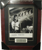 Tuskegee Airmen - Autographed and Signed by Charles McGee - Photo Museum Store Company