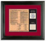 Collector's Birth of a Nation - Constitution - Actual Authentic Collectable - Photo Museum Store Company