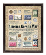 Collector's America Goes to War - Actual Authentic Collectable - Photo Museum Store Company
