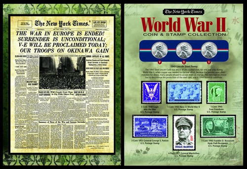 Collectors The New York Times World War II Coin Stamp Collection