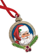 Collector's Santa Claus Coin Ornament - Actual Authentic Collectable - Photo Museum Store Company