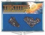 Tektite, Meteorite Impact Specimen, 800,000 Years Old - Actual Authentic Specimen - Photo Museum Store Company