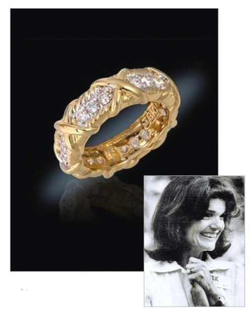 Jacqueline Jackie Kennedy Collection   The Unity Ring   Photo Museum Store  Company