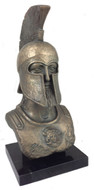 Bronze Bust of Leonidas - Archaeological Museum, Sparta, 5th century B.C. - Photo Museum Store Company
