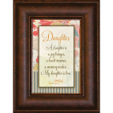 Daughter - Mini Framed Print / Wall Art - Photo Museum Store Company