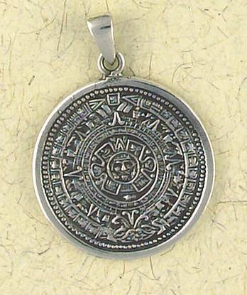 Mayan calendar pendant museum store company gifts jewelry and more maya mayan calendar pendant on cord photo museum store company aloadofball Images
