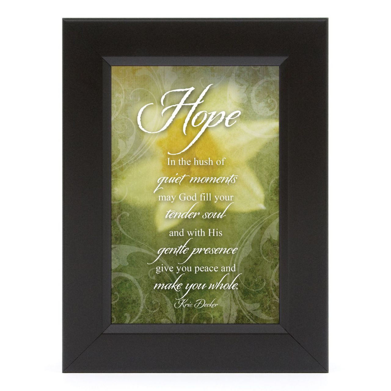 Hope-What Cancer Shadow Box - Framed Print / Wall Art ...