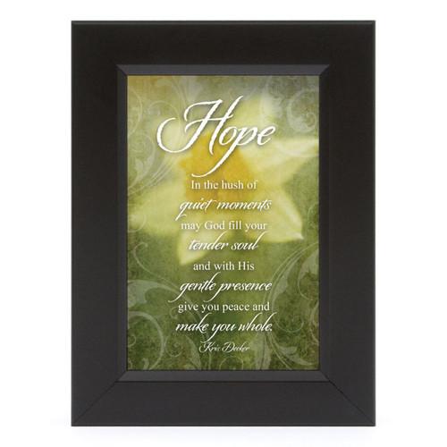 Hope-What Cancer Shadow Box - Framed Print / Wall Art ...