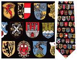 Heraldic Shields Heraldry Necktie - Museum Store Company Photo