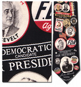 Franklin D. Roosevelt Necktie - Museum Store Company Photo