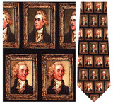 Thomas Jefferson Portraits Necktie - Museum Store Company Photo