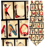 Colonial Posture Alphabet Necktie - Museum Store Company Photo