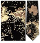Antarctic Map Necktie - Museum Store Company Photo