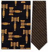 Gavels Repeat, Judge Necktie - Museum Store Company Photo