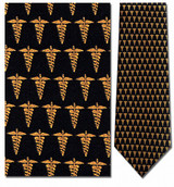 Medical Caduceus Necktie - Museum Store Company Photo