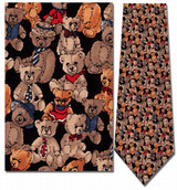 Teddy Bears, 100th Anniversary Necktie - Museum Store Company Photo