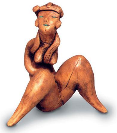 Seated Female Figurine - Photo Museum Store Company