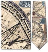 Nautical Map, C. 1742 Necktie - Museum Store Company Photo