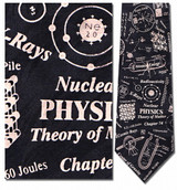Nuclear Physics Necktie - Museum Store Company Photo