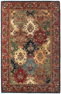 Baktarri - Navy / Multi Rug : Persian Tufted Collection - Photo Museum Store Company