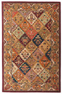Baktarri - Red / Multi Rug : Persian Tufted Collection - Photo Museum Store Company