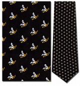 Bees Mini Repeat Necktie - Museum Store Company Photo