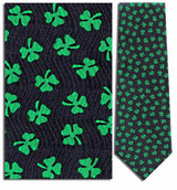 Shamrock Clovers, St. Patricks Necktie - Museum Store Company Photo