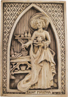 Saint Martha Plaque - Museum Store Company Photo